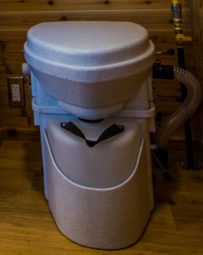 Composting toilet photo